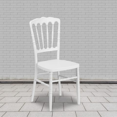 2 Pack Resin Stacking Napoleon Chair