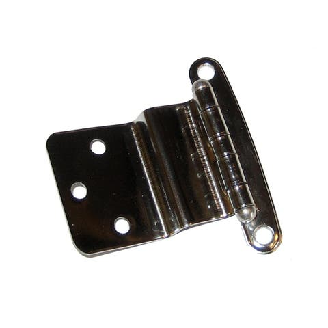 "Whitecap Concealed Hinge 304Ss 1-1/2"" X 2-1/4"" 3/8""-1/2"" Off - S-3025"