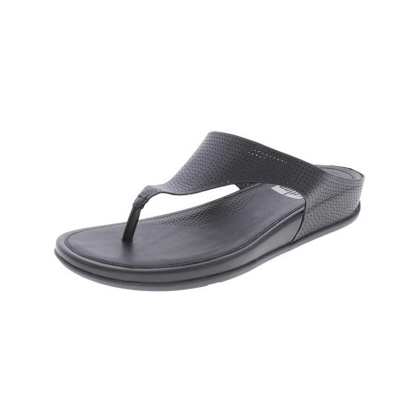 Fitflop Womens Banda Thong Sandals Open Toe Cushioned