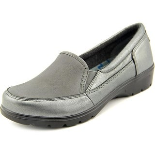 Skechers Concerts Women Round Toe Leather Loafer