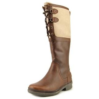Ugg Australia Elsa Women Round Toe Leather Knee High Boot