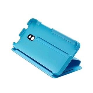 HTC Double Dip Flip Case for HTC One Mini (M4) - Light Blue