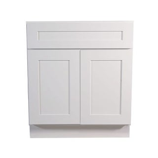"""Design House 561399 Brookings 33"""" Double Door Base Cabinet with Drawer"""
