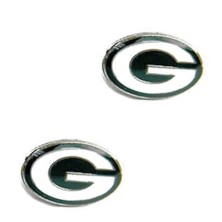 Green Bay Packers Post Stud Logo Earring Set Charm Gift