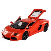 Costway Lamborghini RC Car Gravity Sensor Dangling Remote Control - Orange