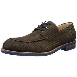 A. Testoni Mens Suede Textured Casual Shoes - 10.5 medium (d)