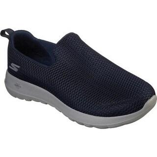 Skechers Men's GOwalk Max Slip-On Walking Shoe Navy/Gray