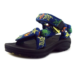 Teva Hurricane 2 Toddler Open-Toe Canvas Blue Comfort Sandals Shoes