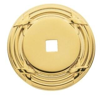 Baldwin 4613 Edinburgh 1-1/2 Inch Diameter Cabinet Knob Back Plate