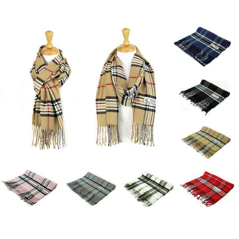 Super Soft Luxurious Classic Cashmere Feel Winter Scarf