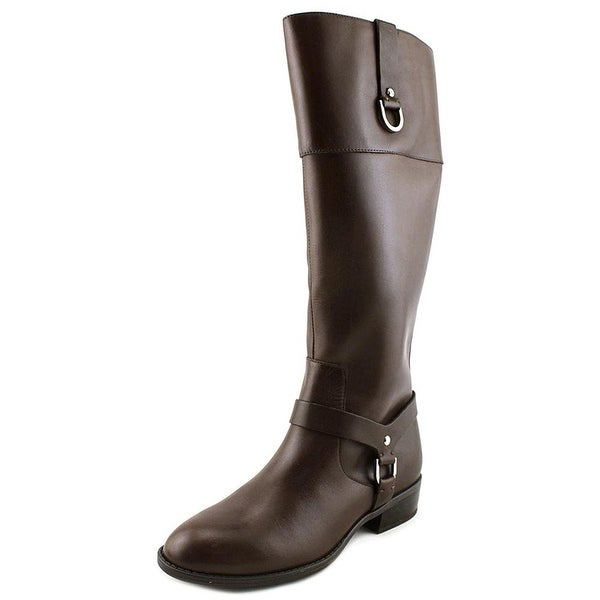 LAUREN by Ralph Lauren Womens Mesa Leather Closed Toe Mid-Calf Fashion Boots - 6