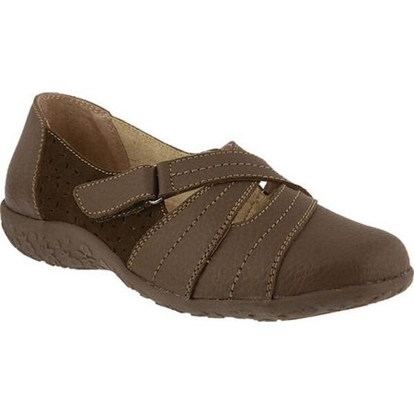 Shop Grain Spring Step Women's Heloise Slip On Taupe Full Grain Shop Leather - - 22865711 25002e