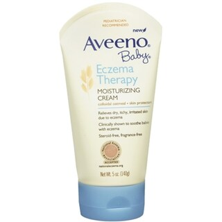 AVEENO Baby Eczema Therapy Moisturizing Cream 5 oz (4 options available)