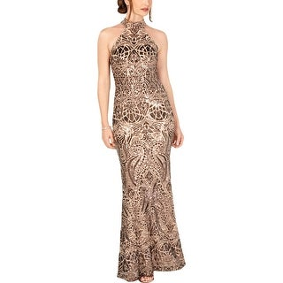Link to Betsy & Adam Womens Evening Dress Sequined Formal Similar Items in Dresses