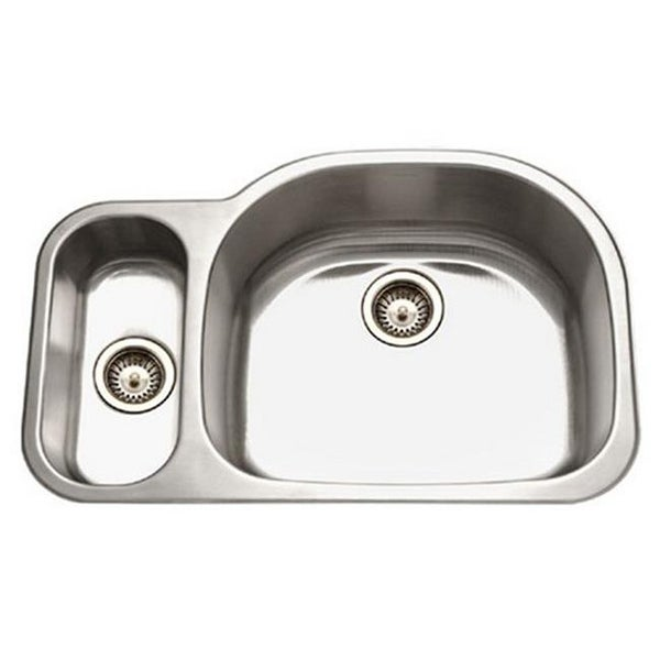 32 X 21 In Medallion Designer Series Undermount Stainless Steel 7 Free Shipping Today 25008516