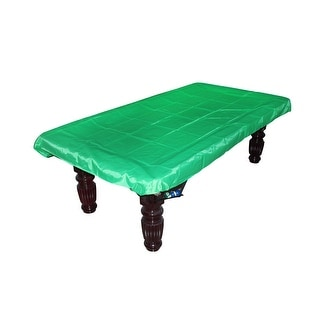 Billiard Protective Cover Cloth Pool Felt Tablecloth Green For 12 Foot Table