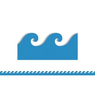 Blue Waves Mighty Brights Border