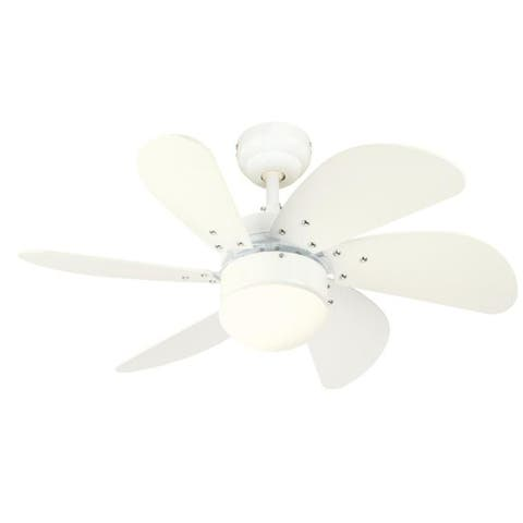 Westinghouse Turbo Swirl 30 in. White Indoor Ceiling Fan