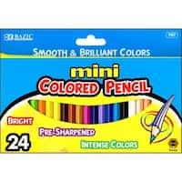 Bazic Mini Colored Pencil Set 24pc
