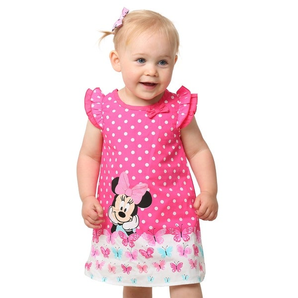 Minnie Polka Dot Infant Dress and Panty Set