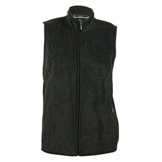 Karen Scott Women's Fleece Vest