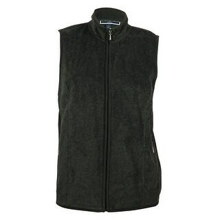 Karen Scott Women's Fleece Vest