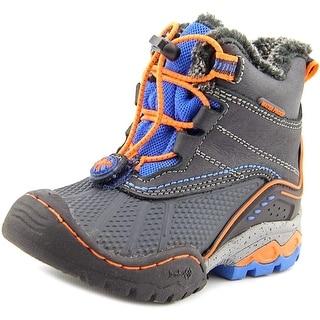 Jambu Baltoro Round Toe Leather Snow Boot