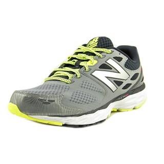 New Balance 680 Men Round Toe Synthetic Gray Running Shoe