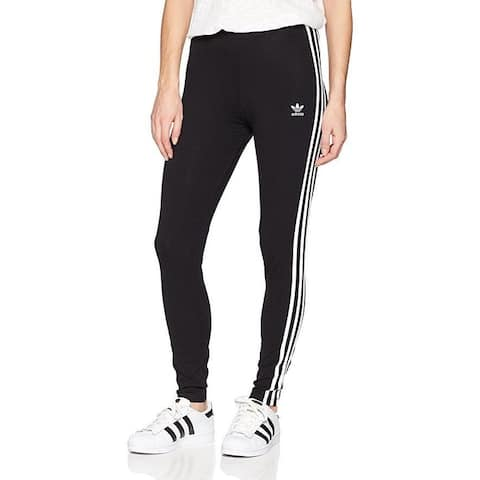 adidas Originals Women's 3-Stripes Leggings, Black, X-Small