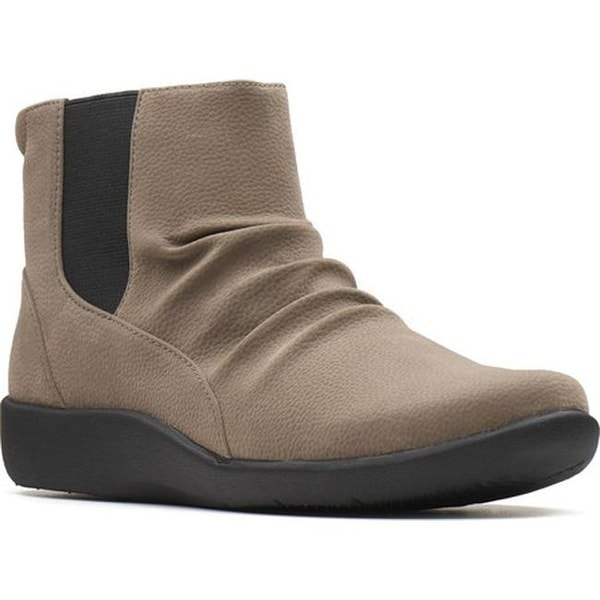 0cd660f26699 Shop Clarks Women s Sillian Rima Ankle Boot Sage Synthetic - On Sale ...