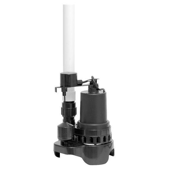 Superior Pump 92372RTG-P Quick Install Sump Pump, 1/3 HP
