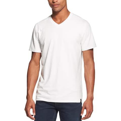 DKNY Mens Big & Tall T-Shirt V-Neck Short Sleeves