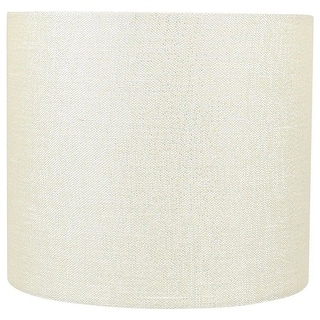 """Link to Classic Drum Metallic Fabric Lamp Shade, 8"""" to 16"""" Bottom Size Similar Items in Lamp Shades"""