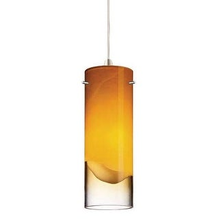 Forecast Lighting FQ0001062 A La Carte Amber Glass Shade from the Crete Collecti