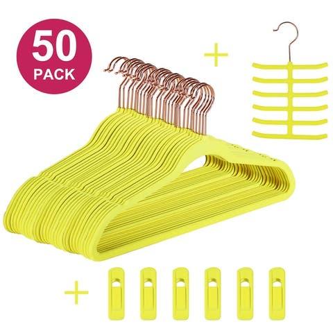 Velvet Hangers Suit/Shirt Heavy Duty 30/50/100 Pack