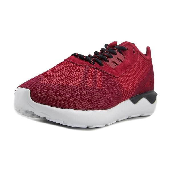 Adidas Tubular Runner Men Round Toe Synthetic Burgundy Basketball Shoe