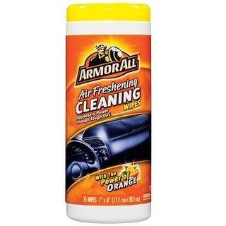 Armor All 10260 Orange Air Freshening Cleaning Wipes
