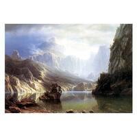 ''Sierra Nevada'' by Albert Bierstadt Museum Art Print (23 x 30.75 in.)
