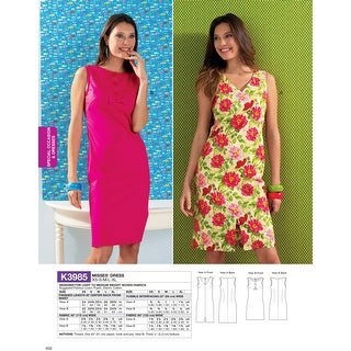 Misses' Dress- -*SEWING PATTERN*