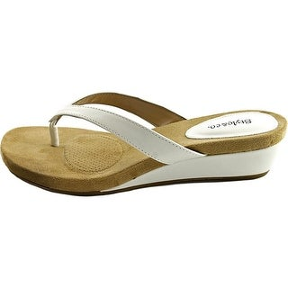 Style & Co. Womens Haloe2 Open Toe Casual Slide Sandals (More options available)