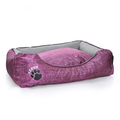 Pets Outdoor Dog Bed - Durable Waterproof Sofa Dog Bed with Sides