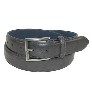 Nautica Men's Leather Feather Edge Casual Belt - Brown