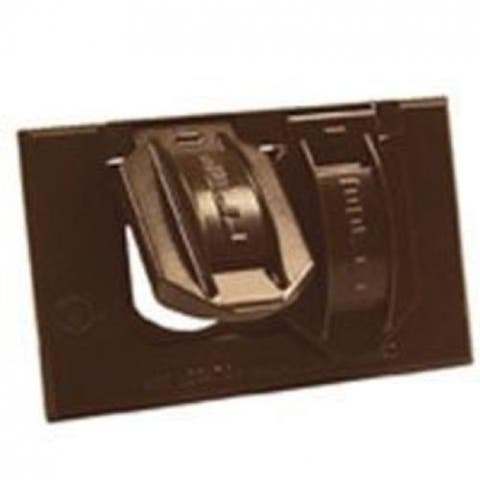 Bell 5180-7 Horizontal Weatherproof Duplex Box Cover, Bronze, 1 Gang