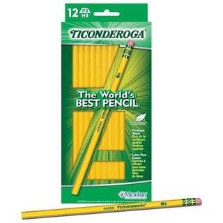 Dixon - Ticonderoga Pencil - Ticonderoga Pencils, 4/Pkg. - Carded