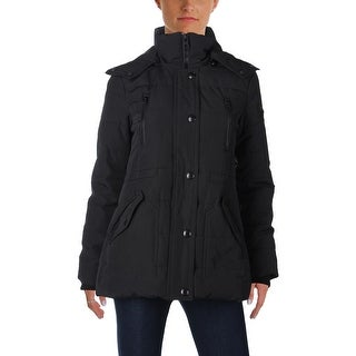 Guess Womens Parka Coat Winter Anorak