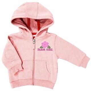 Farm Girl Western Sweatshirt Girls Home Grown Floral Pink F43037073