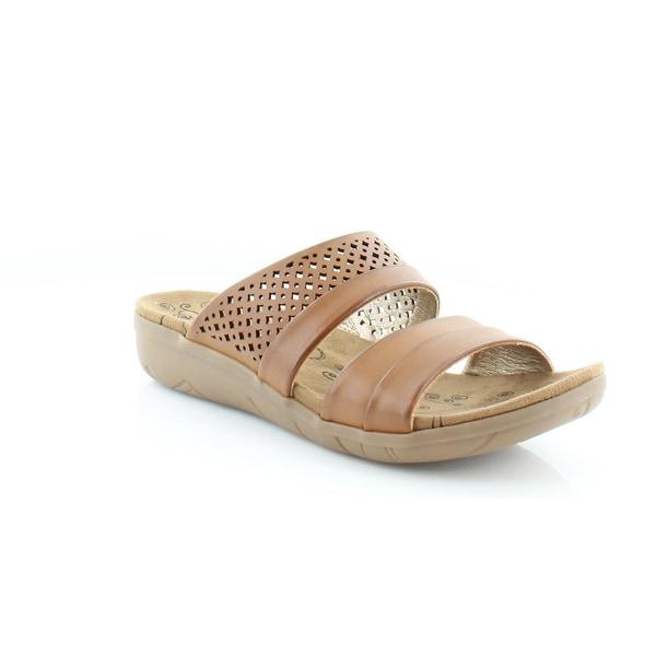 BareTraps Jimina Women's Sandals & Flip Flops Brush Brown - 7.5
