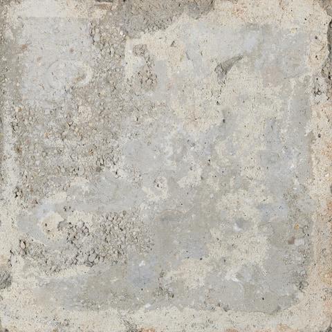 Piazza Ceramic Italian Tile in Florence Grey (8 x 8, 7 Sq. Ft.)