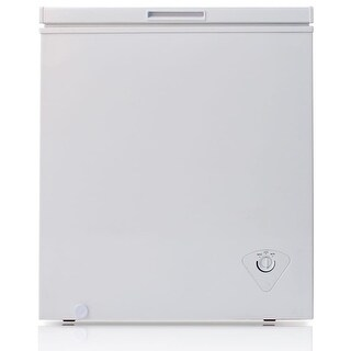 Arctic King BWC1047 29 Inch Wide 5.0 Cu. Ft. Chest Freezer with Removable Storage Basket