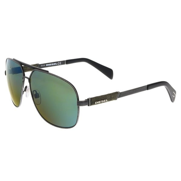 Diesel DL0088 16Q Palladium Aviator Sunglasses